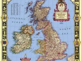 Map of the British Isles - Liberty Puzzles - 1