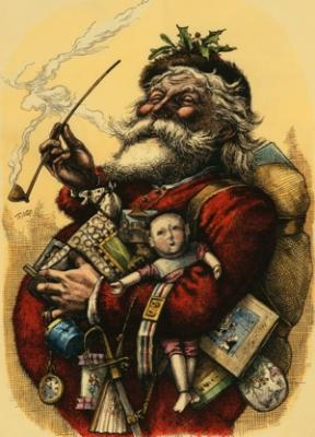 Merry Old Santa Claus - Liberty Puzzles - 6
