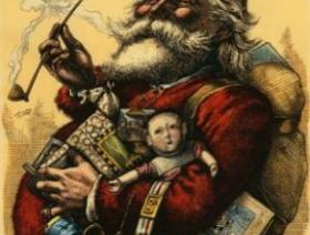 Merry Old Santa Claus - Liberty Puzzles - 1