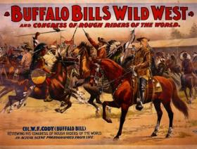 Buffalo Bill Congress of Rough Riders - Liberty Puzzles - 1