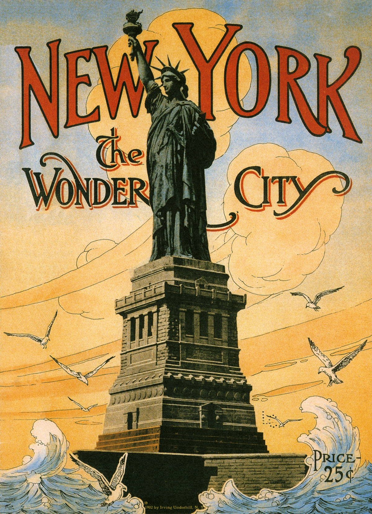 7c5d3b9ff08 New York the Wonder City - Wooden Jigsaw Puzzle - Liberty Puzzles ...