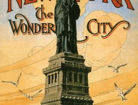 New York the Wonder City - Liberty Puzzles - 1