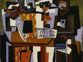 Three Musicians - Liberty Puzzles - 1