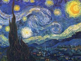 Starry Night - Liberty Puzzles - 1