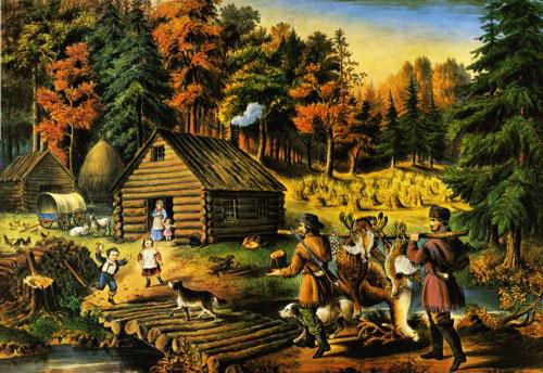 Pioneer's Home on the Western Frontier - Liberty Puzzles - 2