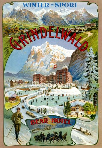 Grindelwald Winter Sport - Liberty Puzzles - 6