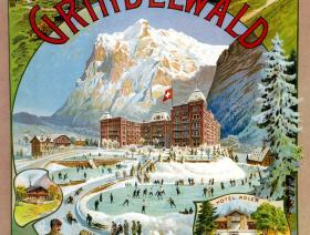 Grindelwald Winter Sport - Liberty Puzzles - 1
