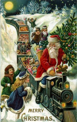 Santa Claus Train - Liberty Puzzles - 2