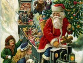 Santa Claus Train - Liberty Puzzles - 1