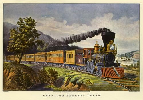 American Express Train XS - Liberty Puzzles - 2