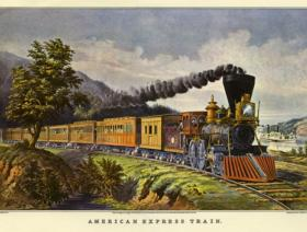 American Express Train XS - Liberty Puzzles - 1