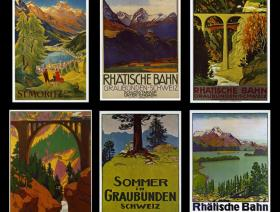 Swiss Alps Travel Posters - Liberty Puzzles - 1