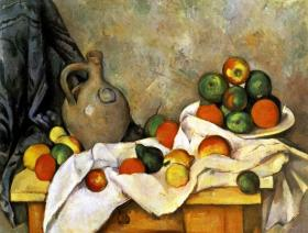 Still Life with Curtain, Jug, and Compotier - Liberty Puzzles - 1