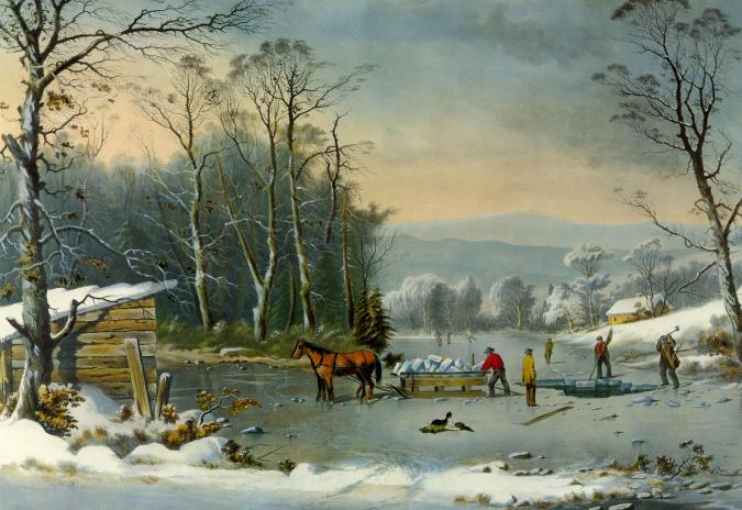 Winter in the Country: Gathering Ice - Liberty Puzzles - 6