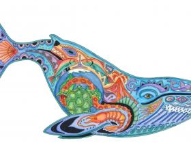Blue Whale - Liberty Puzzles - 1