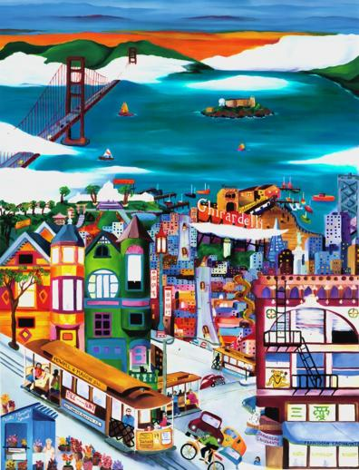 Hills of San Francisco - Liberty Puzzles - 6