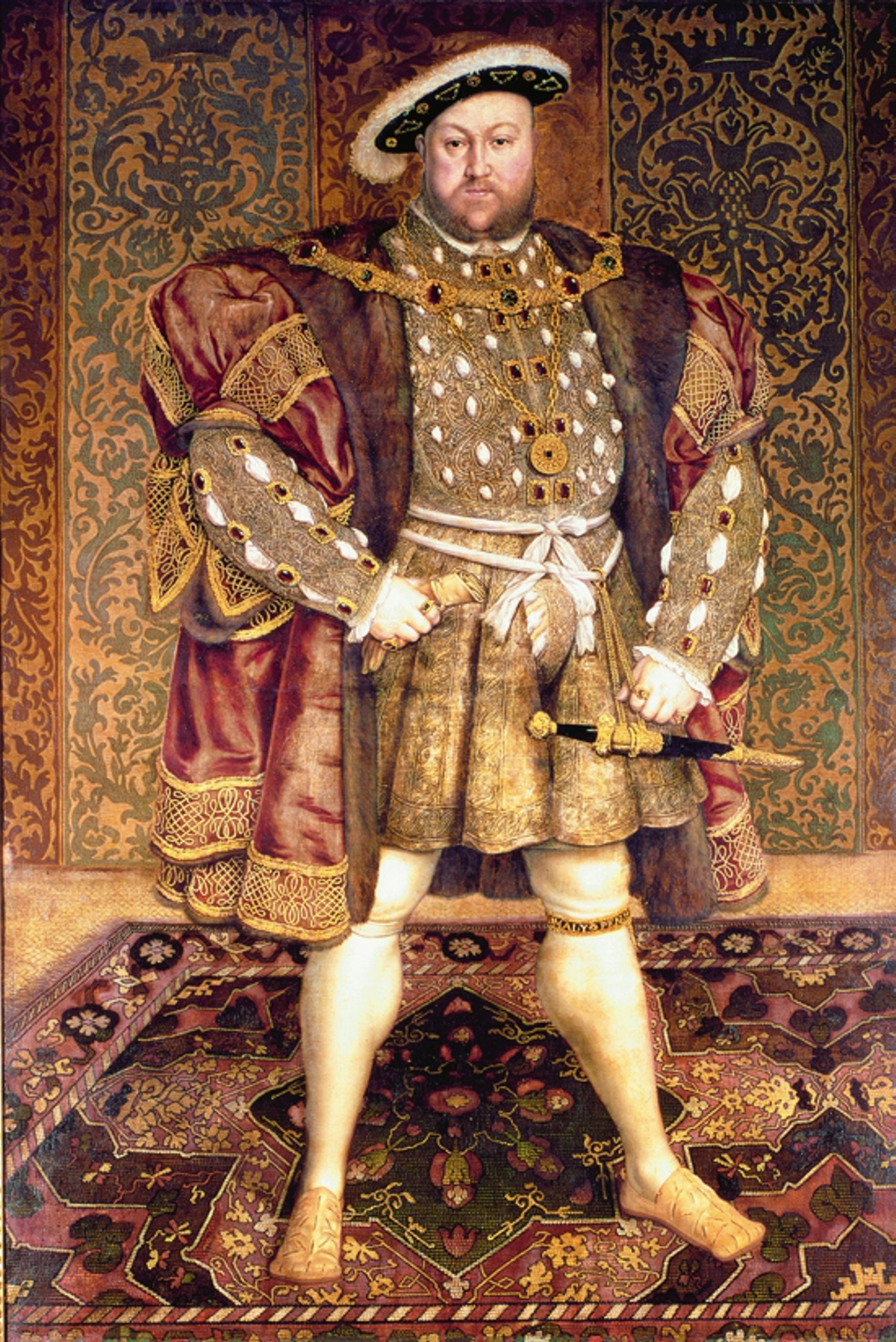 Portrait Of Henry Viii Wooden Jigsaw Puzzle Liberty