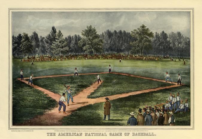 The American National Game of Baseball - Liberty Puzzles - 6