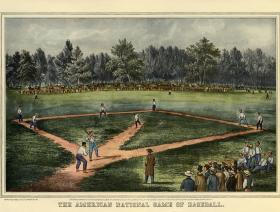 The American National Game of Baseball - Liberty Puzzles - 1