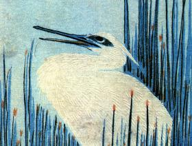 An Egret Among the Rushes - Liberty Puzzles - 1