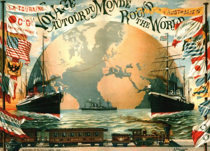 Voyage Round the World - Liberty Puzzles - 6