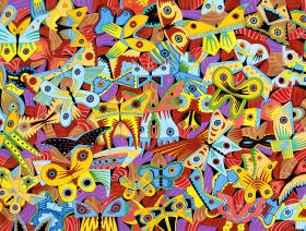 Butterflies - Liberty Puzzles - 1