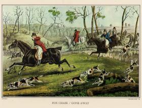 The Fox Chase - Gone Away - Liberty Puzzles - 1