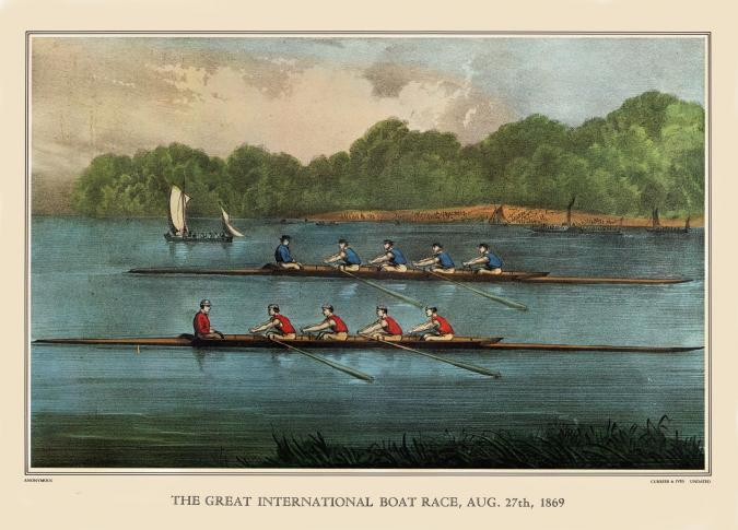 Great International Boat Race - Liberty Puzzles - 6