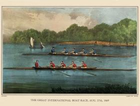 Great International Boat Race - Liberty Puzzles - 1