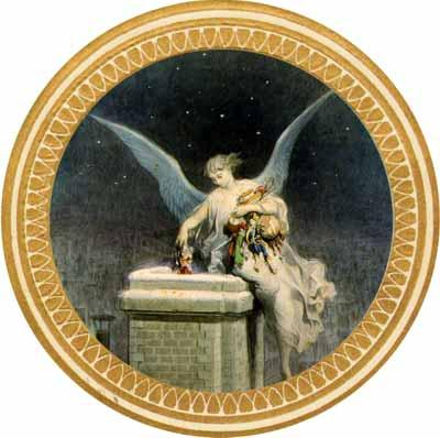 Christmas Angel round - Liberty Puzzles - 5