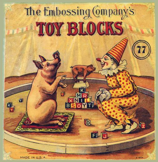 Embossing Company's Toy Blocks - Liberty Puzzles - 6