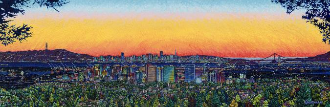 City Sunset - Liberty Puzzles - 6