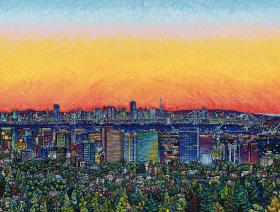 City Sunset - Liberty Puzzles - 1