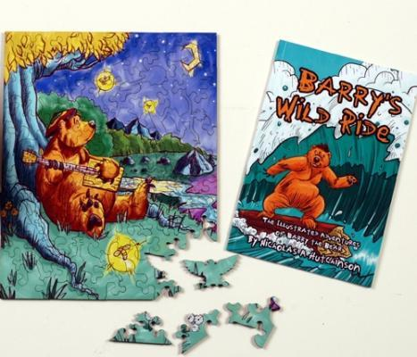 Barry the Bear BUNDLE - Liberty Puzzles - 4