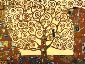 Klimt Tree of Life - Liberty Puzzles - 1