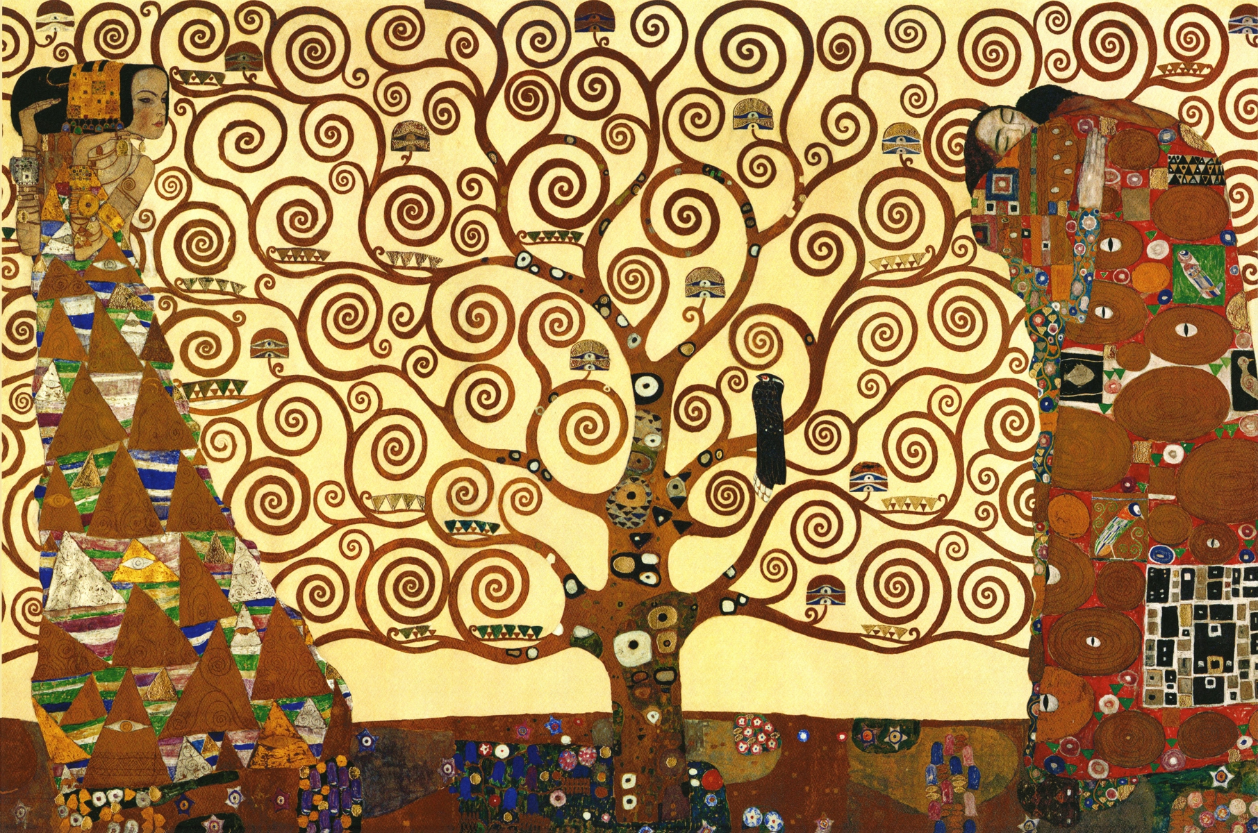 Klimt Tree Of Life Wooden Jigsaw Puzzle Liberty Puzzles Made