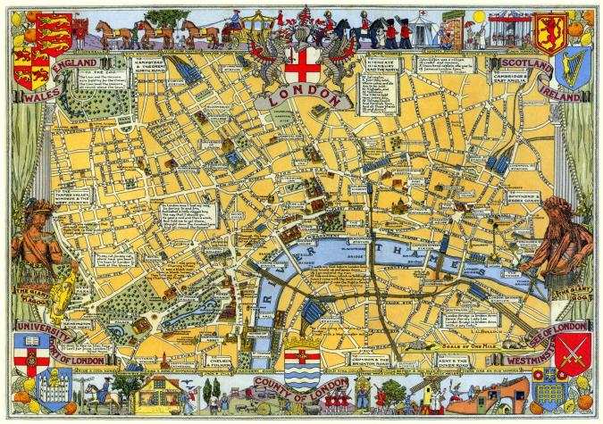 Map of London Large Piece - Liberty Puzzles - 6