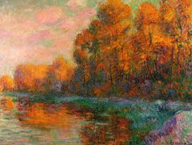 A River in Autumn - Liberty Puzzles - 1