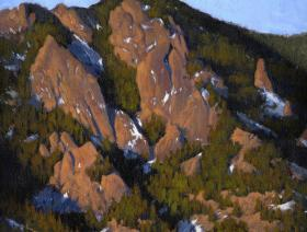 Flatiron Sunrise at the Tangen Tunnel - Liberty Puzzles - 1