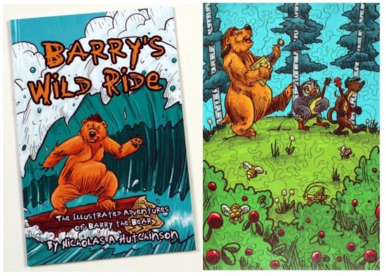 Barry's Band book and puzzle BUNDLE - Liberty Puzzles - 6