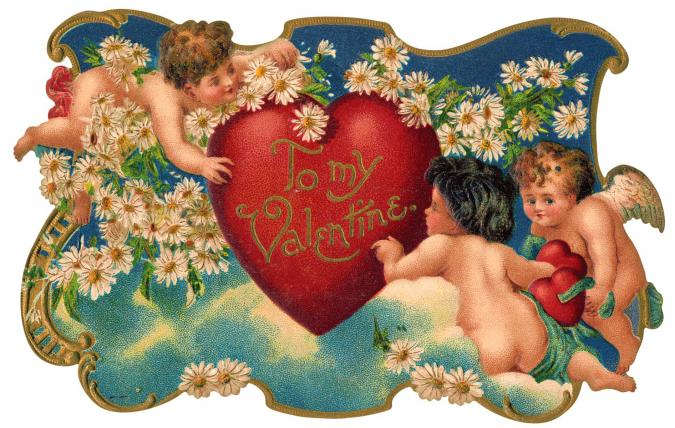 Cupid Garden Party - Liberty Puzzles - 6