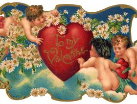 Cupid Garden Party - Liberty Puzzles - 1
