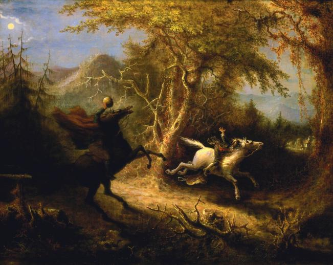 The Headless Horseman Pursuing Ichabod Crane - Liberty Puzzles - 6
