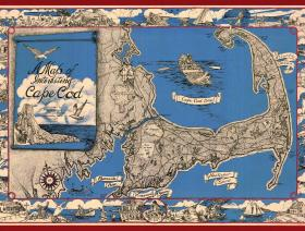 A Map of Interesting Cape Cod - Liberty Puzzles - 1