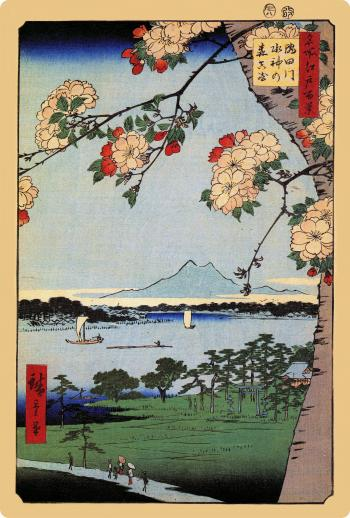 Suijin Shrine and Massaki on the Sumida River - Liberty Puzzles - 8