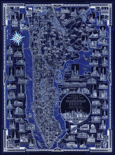 New York City Pictorial Map - Liberty Puzzles - 6