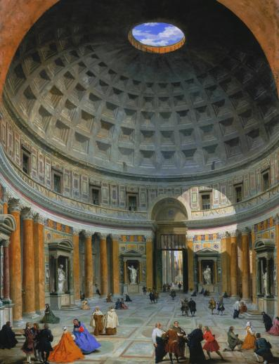 Interior of the Pantheon, Rome - Liberty Puzzles - 6