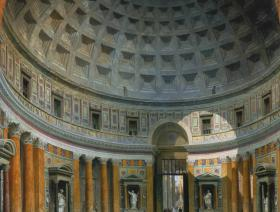 Interior of the Pantheon, Rome - Liberty Puzzles - 1