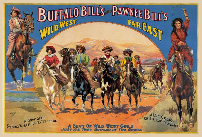 A Bevy of Wild West Women - Liberty Puzzles - 6