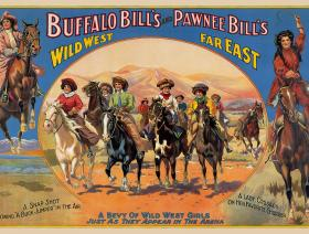 A Bevy of Wild West Women - Liberty Puzzles - 1